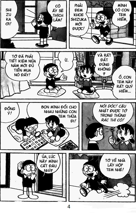 C truy n doremon ng n chap 316 b nh h i ph n ng for Domon phan 4